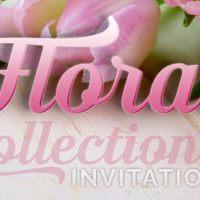 Floral Invitation Card Designs Collection - Pt2