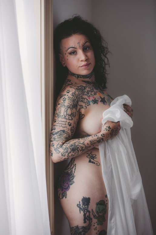 ink, tat, photo, model