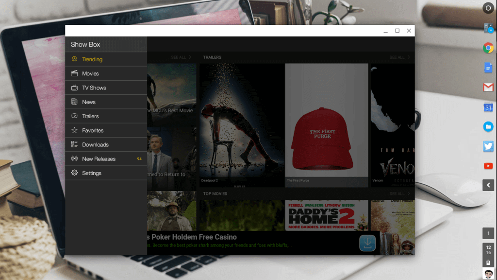 How To Download Showbox For Chromebook?