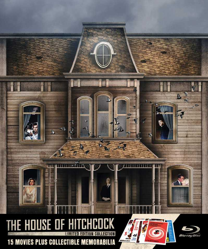 The House of Hitchcock blu-ray collection