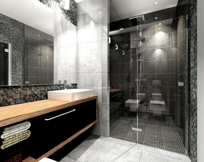 salle de bain noire les erreurs a
