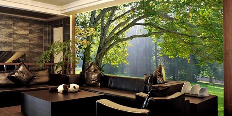 Harga wallpaper dinding 3D Bandung