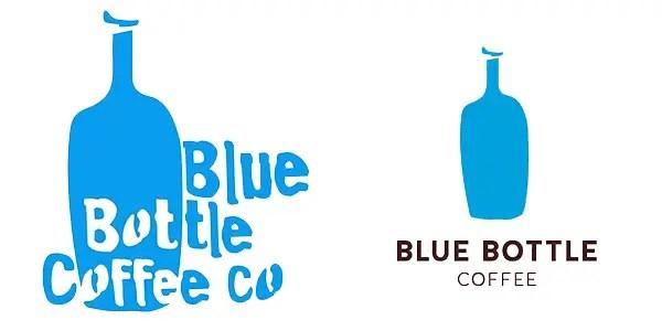 ブルーボトルコーヒー 新旧ロゴ