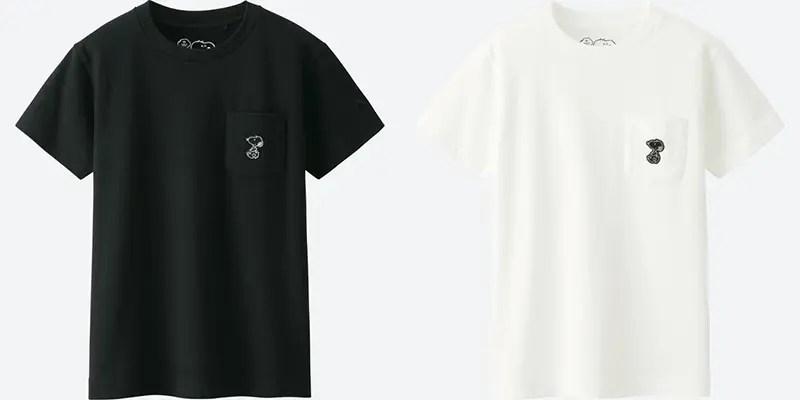 KIDSカウズ × ピーナッツ グラフィック ポケT (半袖)