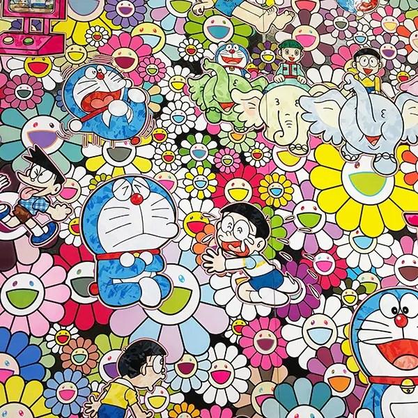 村上隆さんの作品「あんなこといいな 出来たらいいな」
