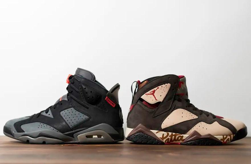 左:AJ6 右:AJ7