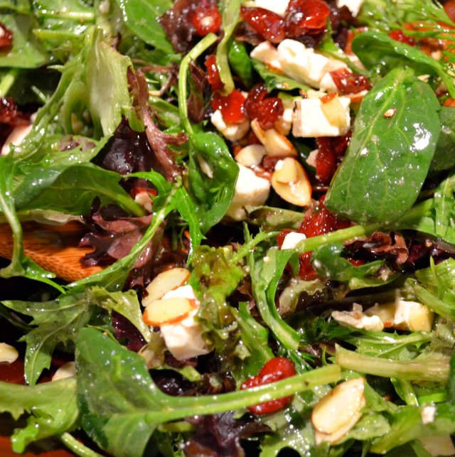 Potato PCranberry, Feta And Almond Salad