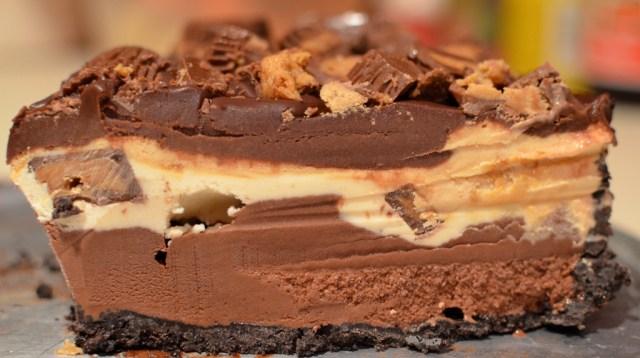 Peanut Butter-Chocolate Ice Cream Torte