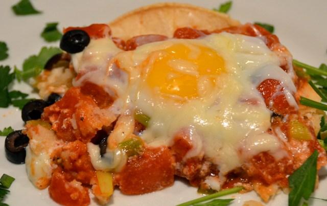 Baked Huevos Rancheros Casserole