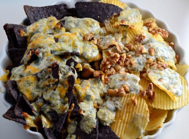 Blue Cheese Nachos