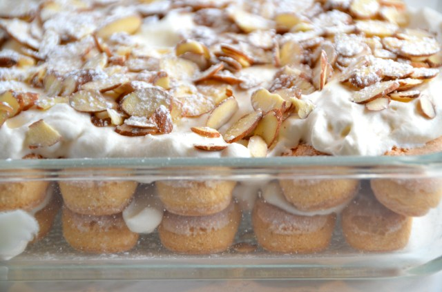 Custard And Almond Sponge Fingers