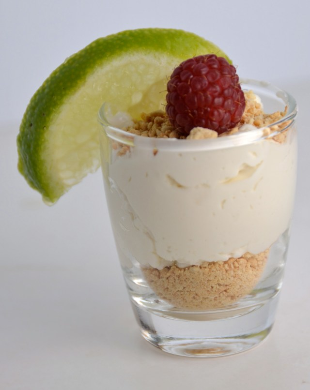 Key Lime Mousse Parfait Shooter