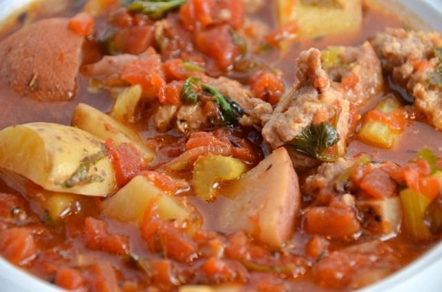Shepherd's Sausage Stew