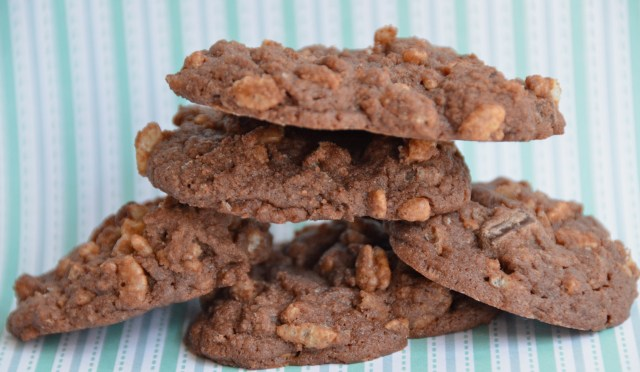 Double Trouble Crispy Chocolate Chunk Cookies