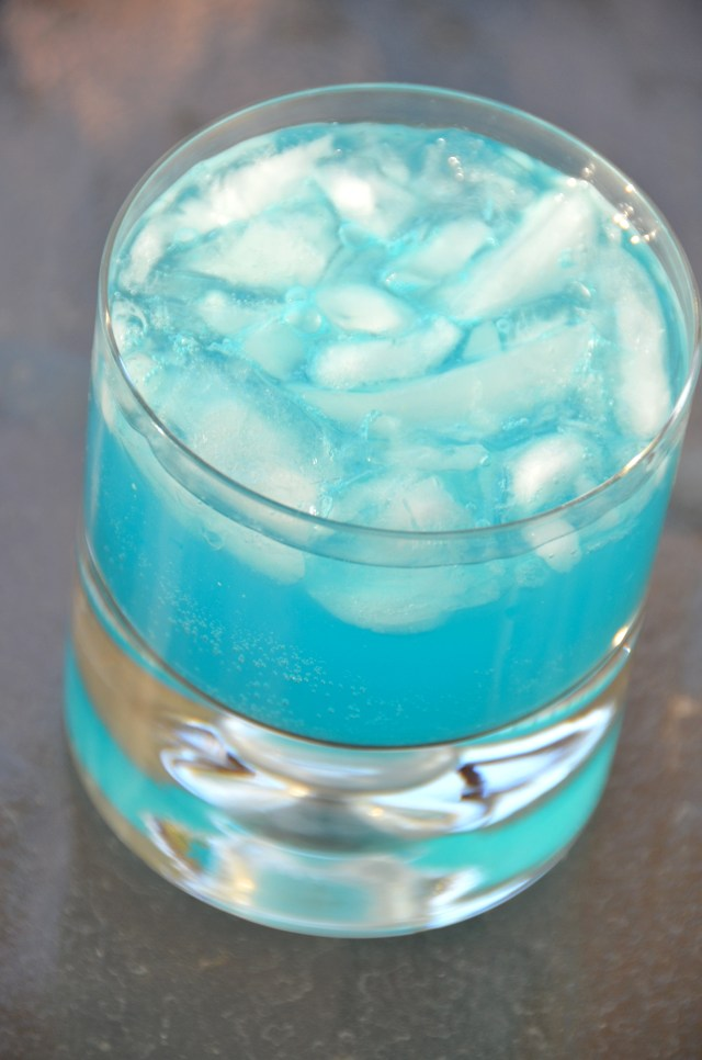 Electric Blue Cocktail