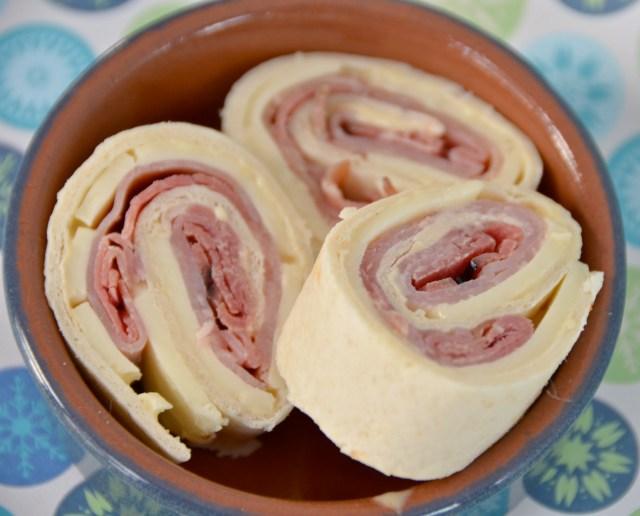 Ham And Cheese Spirals