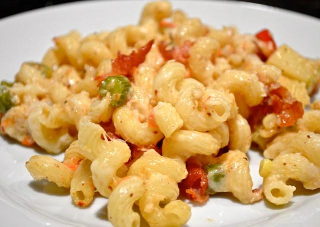 Corn Chowdah Mac n' Cheese