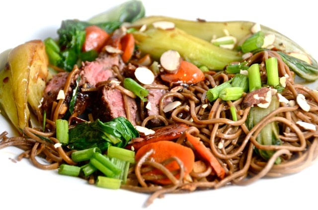 Steak And Soba Stir Fry