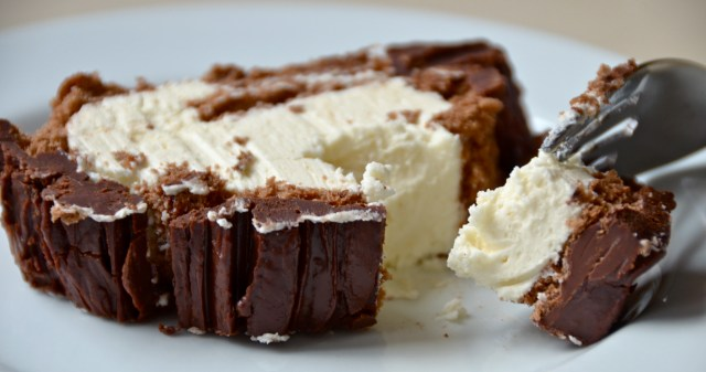 Chocolate And Salted Caramel Yule Log
