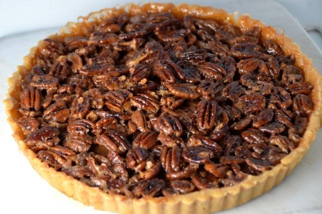 Maple Pecan Toffee Tart