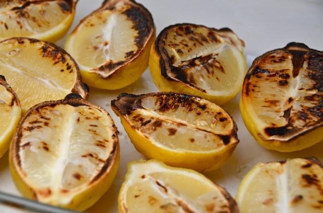 Broiled lemons