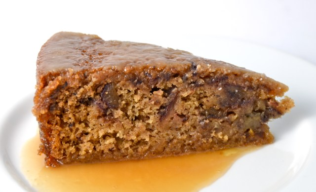 Sticky Toffee Pudding With Bourbon Glaze