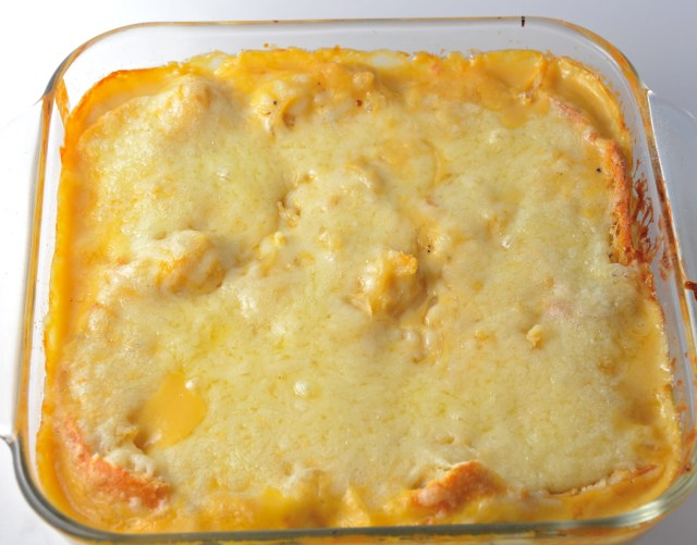 Cheesy Onion Casserole