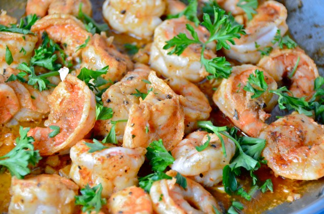 The Simplest & Best Shrimp With Saffron Rice