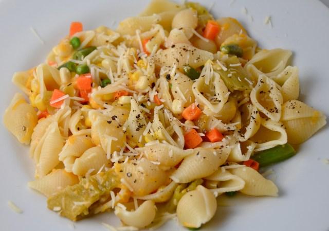 Easy Pasta With Veggies