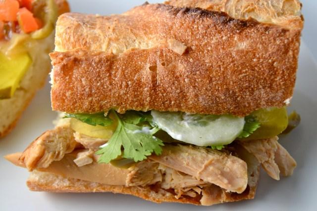 Hanoi Grilled Chicken Banh Mi