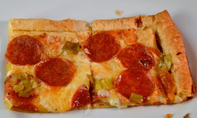 3 cheese pepperoni tart