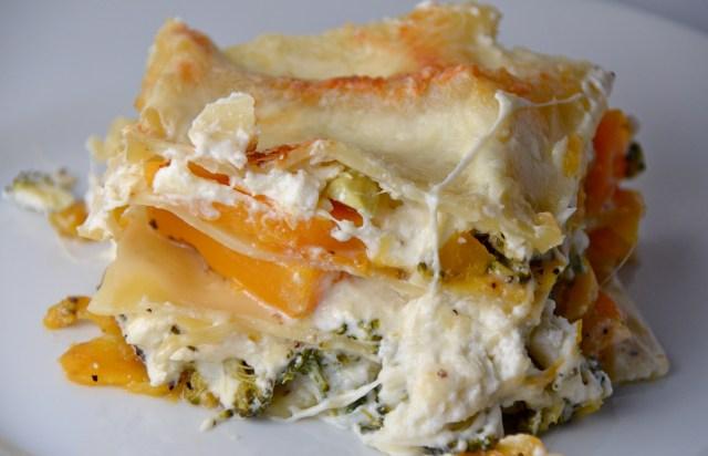 Squash And Broccoli Rabe Lasagna