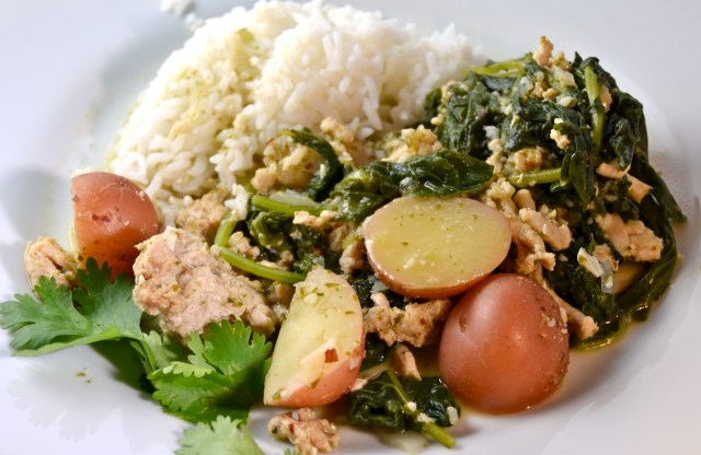 Kale-Turkey Rice Bowl
