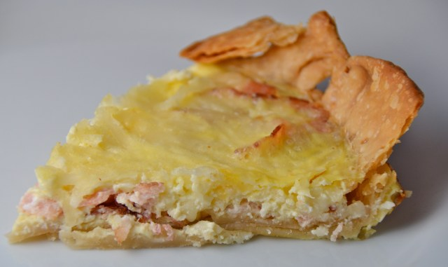 Swiss Cheese And Bacon Quiche