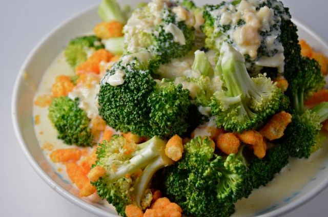 Broccoli With Cheetos 3