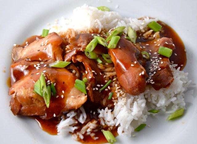 Slow Cooker Chicken Teriyaki