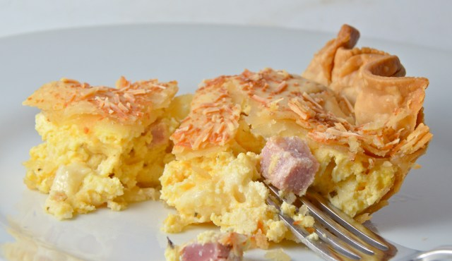 Italian Cheese Rustic Pie