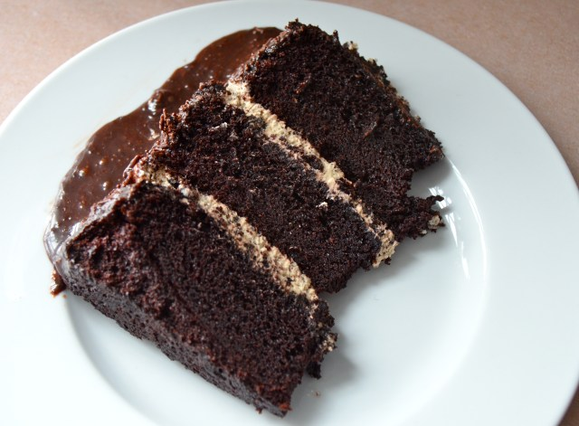 Chocolate Brigadeiro Cake  (Bolo de Brigadeiro)