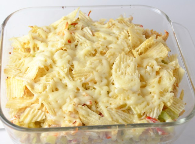Crispy Hot Chicken Salad