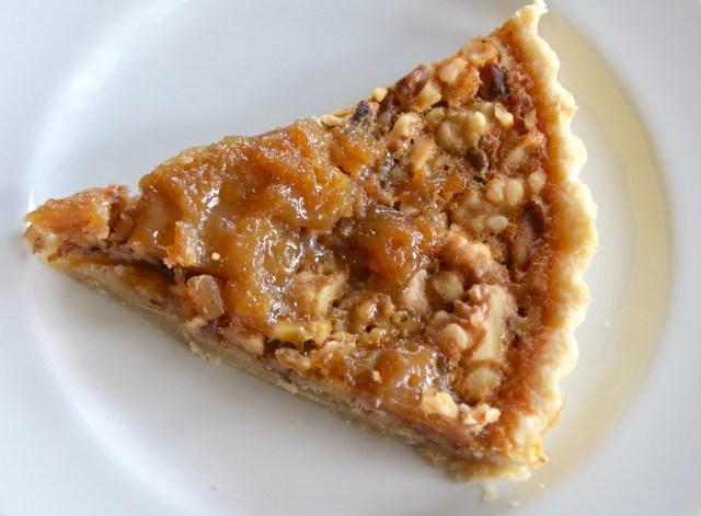 Walnut, Honey And Bourbon Pie