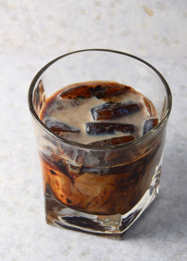 Coffee Ice Cube Cocktail