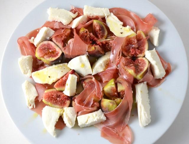 Fig, Prosciutto And Mozzarella Salad