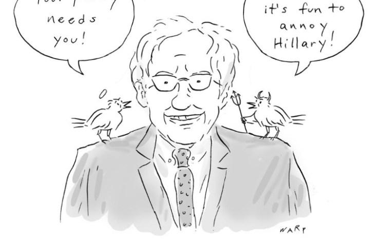Drop Out Bernie