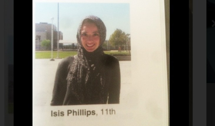 Muslim Student Labeled Isis in Yearbook