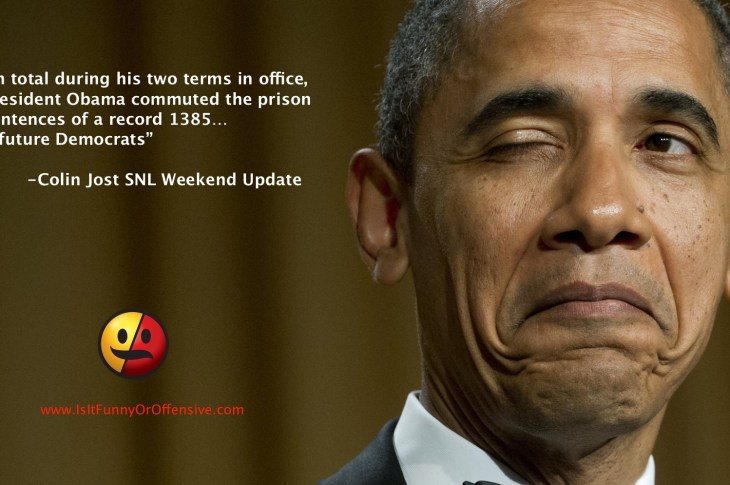 SNL Weekend Update on Obama Commuted Sentences