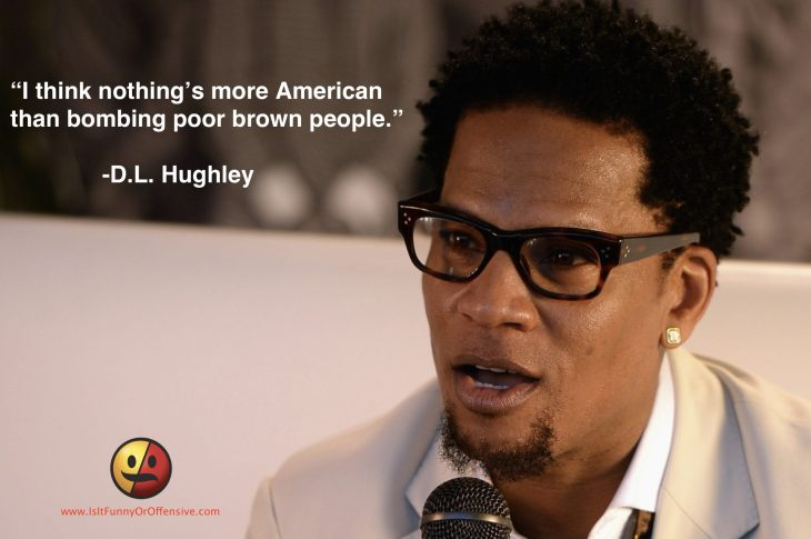 D.L. Hughley on Syria Bombings