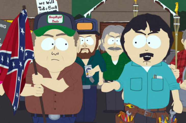 South Park Takes Aim at White Supremacists