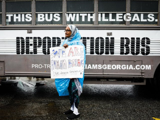Georgia Governor Candidate Tours State With His Deportation Bus