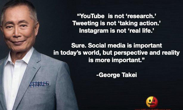 George Takei on Social Media