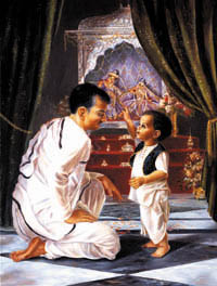 Prabhupada in Chilhood